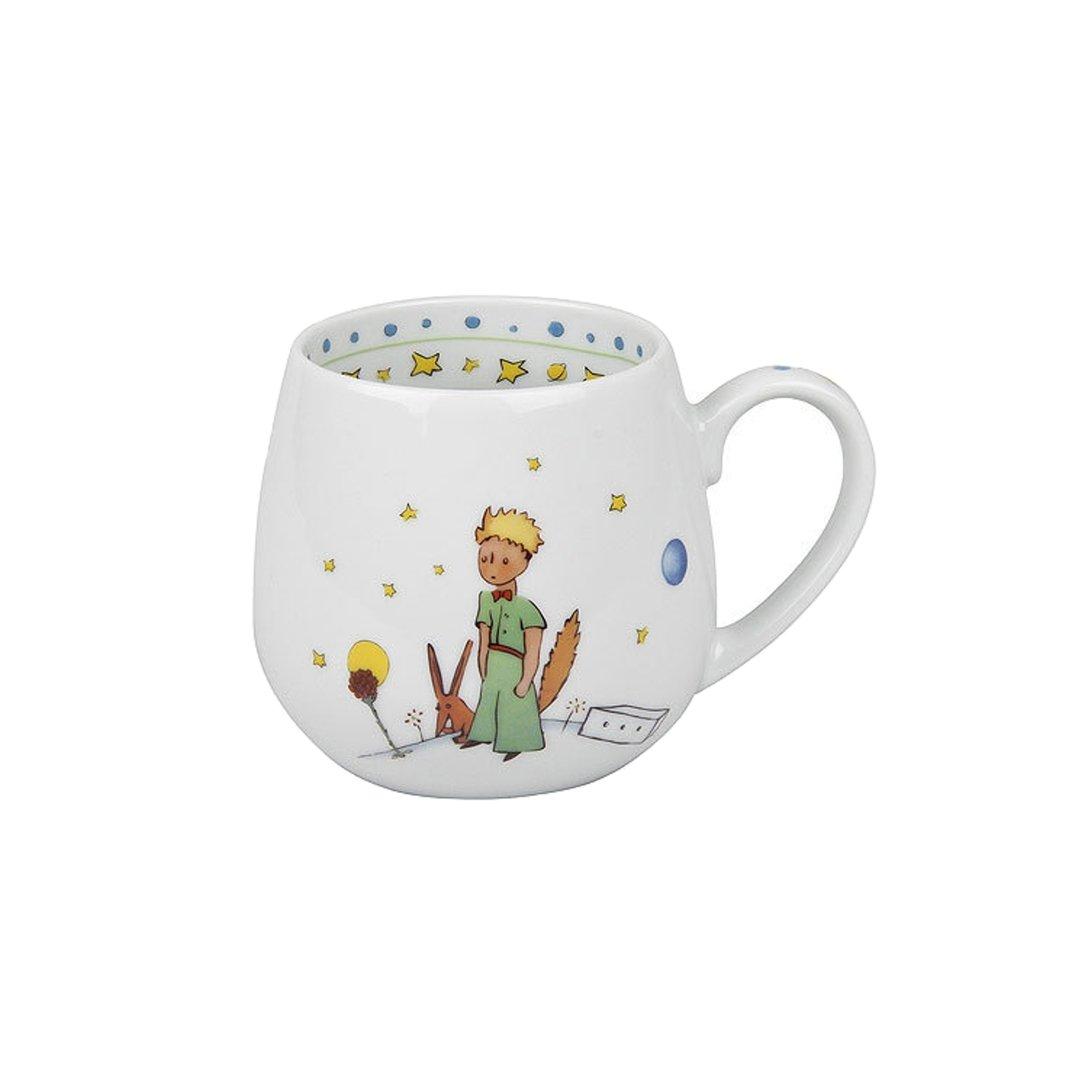 """Könitz Porzellan Kaffeetassen Porzellan Kindertasse Teetasse Set /""""PRINZ/"""" 2teilig"""